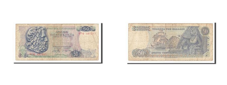 World Coins - Greece, 50 Drachmai, 1978, KM #199a, 1978-12-08, F(12-15), 497241