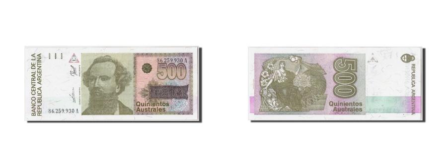 World Coins - Argentina, 500 Australes, Undated (1990), Undated, KM:328b, UNC(65-70)