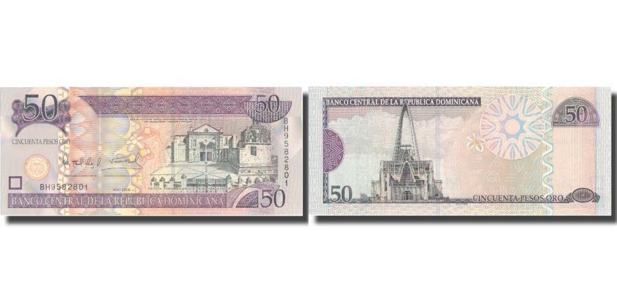 World Coins - Banknote, Dominican Republic, 50 Pesos Oro, 2006, 2006, KM:176a, UNC(65-70)