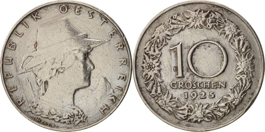 World Coins - Austria, 10 Groschen, 1925, Vienne, , Copper-nickel, KM:2838