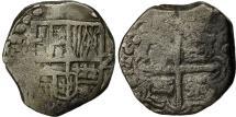 World Coins - Coin, Bolivia, Philip IV, 2 Reales, 1648, Potosi, VF(20-25), Silver, KM 14A