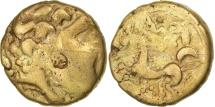 Carnutes, 1/4 Stater, EF(40-45), Gold, Delestrée:manque.