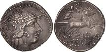 Calidia, Denarius, Rome, AU(55-58), Silver, Crawford:284/1a