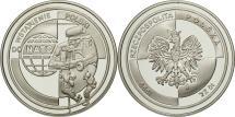 World Coins - Poland, 10 Zlotych, 1999, MS(65-70), Silver, KM:359