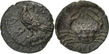 Ancient Coins - Coin, Sicily, Akragas, Litra, AU(50-53), Silver, HGC:2-121
