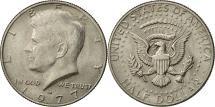 Us Coins - United States, Kennedy Half Dollar, Half Dollar, 1977, U.S. Mint, Denver