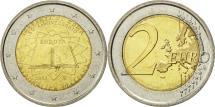 World Coins - Italy, 2 Euro, Traité de Rome 50 ans, 2007, MS(63), Bi-Metallic