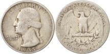 Us Coins - United States, Washington Quarter, 1935, Philadelphia, VF(20-25), KM:164