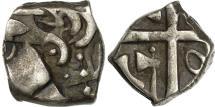 Ancient Coins - Volcae Tectosages, Drachm à la croix, EF(40-45), Silver, Feugère:DCR-73