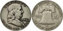 Us Coins - United States, Franklin Half Dollar, Half Dollar, 1958, U.S. Mint, Denver