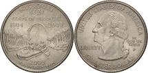 Us Coins - United States, Quarter, 2003, U.S. Mint, Philadelphia, AU(55-58), KM 346