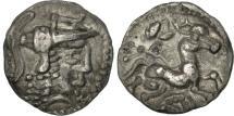 Ancient Coins - Aulerci Cenomani, Denarius, AU(50-53), Silver, Delestrée:2366