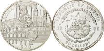 World Coins - Liberia, 20 Dollars, Roma, 2000, MS(65-70), Silver, KM:641