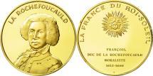 World Coins - France, Medal, La Rochefoucauld, MS(63), Vermeil
