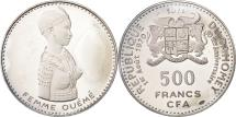 World Coins - Coin, DAHOMEY, 500 Francs, 1971, MS(63), Silver, KM:3.1
