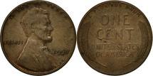 Us Coins - United States, Lincoln Cent, Cent, 1957, U.S. Mint, Philadelphia, EF(40-45)