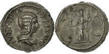 Ancient Coins - Julia Domna, Denarius, Rome, AU(50-53), Silver, RIC:390