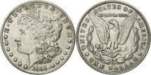 Us Coins - United States, Morgan Dollar, 1895, U.S. Mint, New Orleans, EF(40-45), KM:110