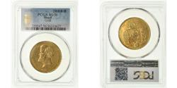 World Coins - Coin, Brazil, Pedro II, 20000 Reis, 1859, PCGS, AU50, Gold, KM:468, graded