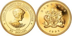 World Coins - Coin, Barbados, 10 Dollars, 1995, , Gold, KM:60