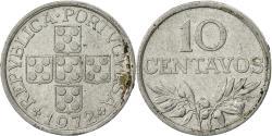 World Coins - Portugal, 10 Centavos, 1972, , Aluminum, KM:594