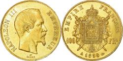 Ancient Coins - Coin, France, Napoleon III, 100 Francs, 1858, Paris, , Gold, KM:786.1