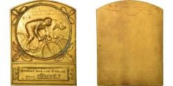 World Coins - France, Medal, Vélo, Cycles Jean Louvet, Neuilly, , Gilt Bronze