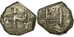 World Coins - Coin, Bolivia, Philip V, 8 Reales, 1738, Potosi, COB, , Silver, KM:31a