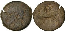 Ancient Coins - Coin, Numidia (Kingdom of), Massinissa or Micipsa, Bronze Æ, Countermark