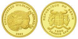 World Coins - Coin, Benin, 1500 Francs CFA, 2005, , Gold