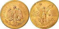 World Coins - Coin, Mexico, 50 Pesos, 1947, Mexico City, , Gold, KM:481