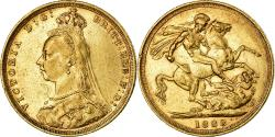 World Coins - Coin, Australia, Victoria, Sovereign, 1888, Sydney, , Gold, KM:10