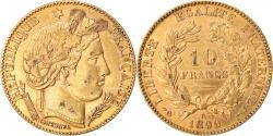 World Coins - Coin, France, Cérès, 10 Francs, 1899, Paris, , Gold, KM:830