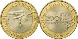 World Coins - Coin, Portugal, 200 Escudos, 1996, Lisbon, , Bi-Metallic, KM:687