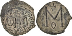 World Coins - Follis, Syracuse, , Copper, 3.52