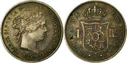 Ancient Coins - Coin, Spain, Isabel II, Real, 1859, Madrid, , Silver, KM:606.2