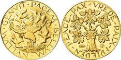World Coins - France, Medal, La Paix, Politics, Society, War, , Gold