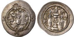 Ancient Coins - Coin, Sasanian Kings, Khusrau I, Drachm, RY 28 (558/559), ML (Marw),