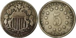 Us Coins - Coin, United States, Shield Nickel, 5 Cents, 1883, U.S. Mint, Philadelphia
