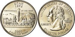 Us Coins - Coin, United States, Quarter, 2007, U.S. Mint, Denver, , Copper-Nickel