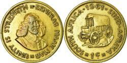 World Coins - Coin, South Africa, Cent, 1961, , Brass, KM:57