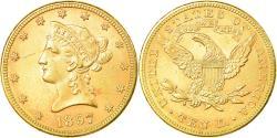 Us Coins - Coin, United States, Coronet Head, $10, Eagle, 1897, U.S. Mint, Philadelphia