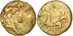 Carnutes, 1/4 Stater, , Gold, Delestrée:manque.