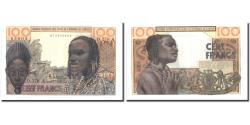 World Coins - Banknote, West African States, 100 Francs, Undated (1965), KM:101Ag, UNC(65-70)