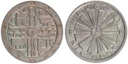 World Coins - URUGUAY, 'So' mintmark also appears on edge., 1000 Pesos, 1969, Santiago, KM...