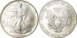 Us Coins - Coin, United States, Dollar, 1993, U.S. Mint, Philadelphia, , Silver