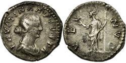 Ancient Coins - Coin, Faustina II, Denarius, 161, Rome, , Silver, RIC:728