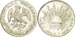 World Coins - Coin, Mexico, 8 Reales, 1896, Guanajuato, , Silver, KM:377.8