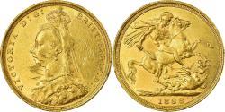 World Coins - Coin, Australia, Victoria, Sovereign, 1888, Sydney, , Gold, KM:10