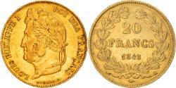 Ancient Coins - Coin, France, Louis-Philippe, 20 Francs, 1848, Paris, , Gold, KM:750.1